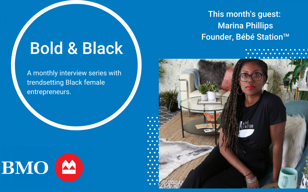 Bold & Black: Marina Phillips